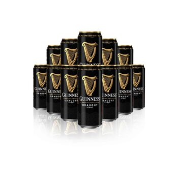 Guinness Draught Stout 440ml Cans - 4.1% ABV (12 Pack)