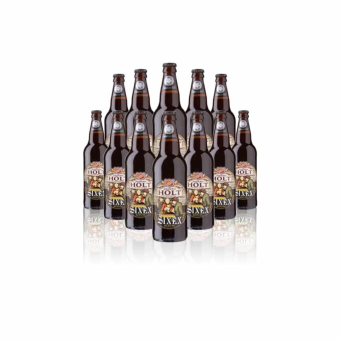 Joseph Holt Sixex Ale 500ml Bottles (6.0% ABV) 8 Pack - (BBD July 2021).