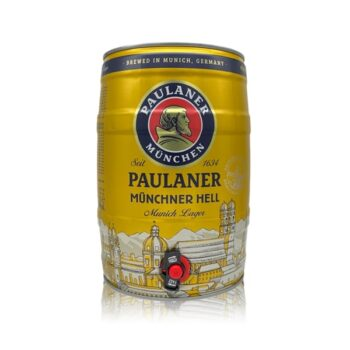 Paulaner Munchner Hell Premium German Lager 5ltr Mini Keg