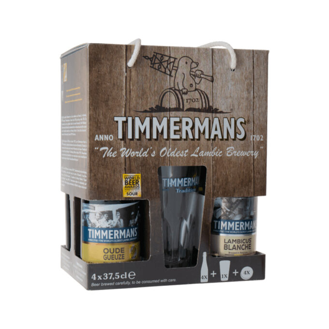 Timmermans Lambic Gift Set (4 Pack)
